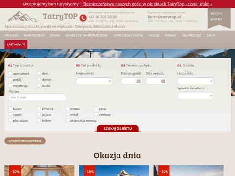 Tatrytop.pl domy i apartamenty w górach