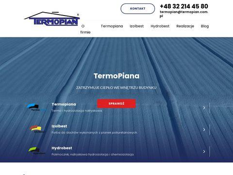 Termopian.com.pl pianka poliuretanowa