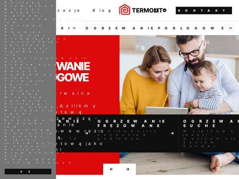 Termolit.pl posadzka pod ogrzewanie