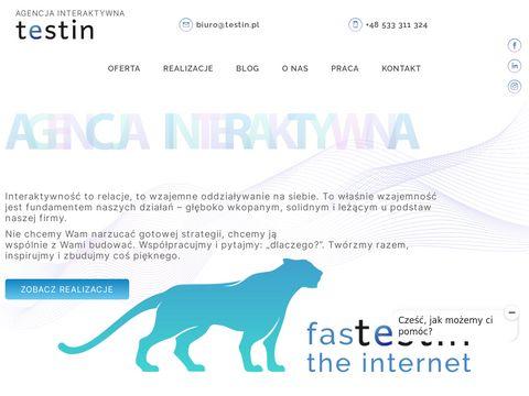 Testin.pl strony internetowe