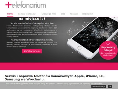 Telefonarium.pl naprawa i serwis iPhone Apple