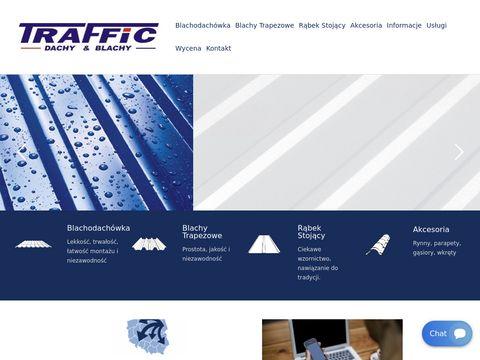 Traffic-blachy.pl dachy Białystok