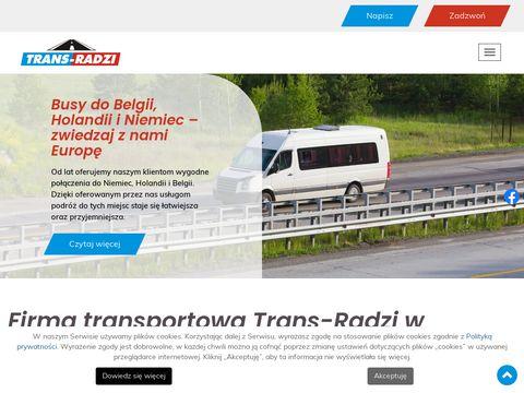 Trans-radzi.pl przewóz osób do Niemiec, Belgii