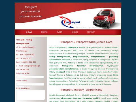 Transpol przeprowadzki, transport