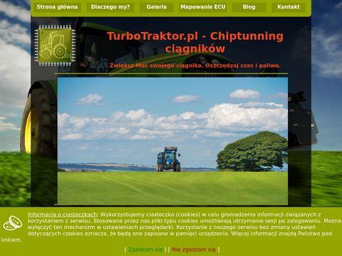 Turbotraktor.pl zwiększenie mocy ciągnika