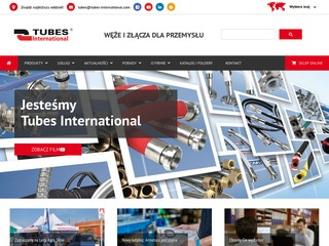 Tubes-international.pl - hydraulika siłowa