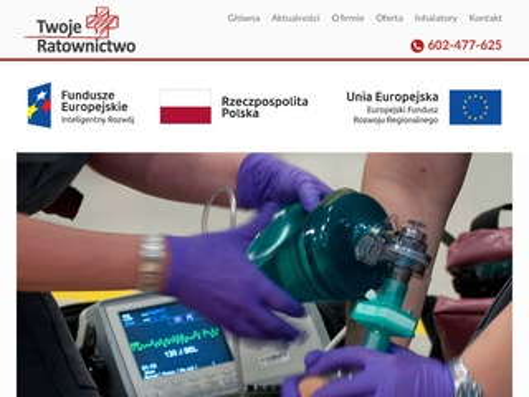 Twojeratownictwo.pl - transport sanitarny