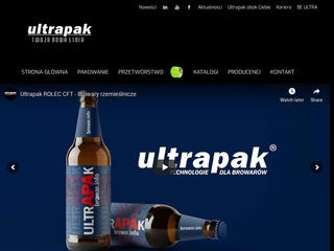 Ultrapak.pl paletyzery
