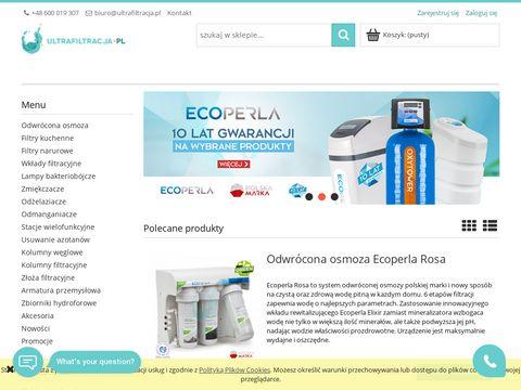 Ultrafiltracja.pl urządzenia do filtracji wody on-line