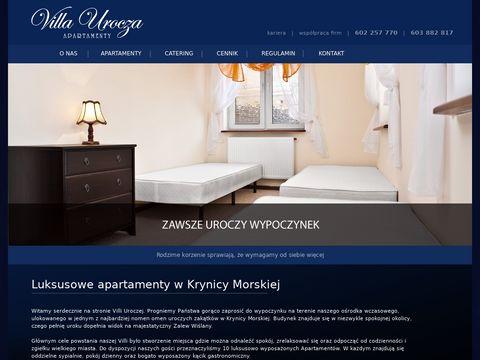 Villaurocza.pl kwatery Krynica Morska