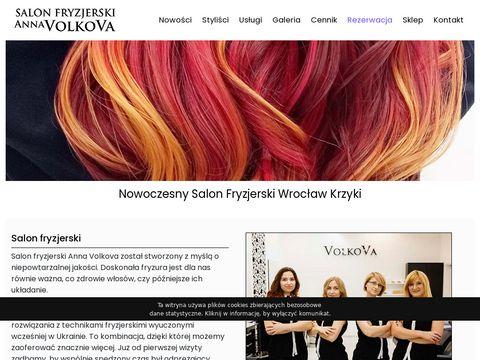 Volkova.pl Salon fryzjerski Anna Volkova