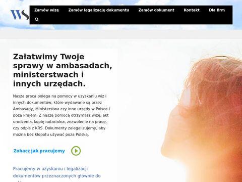 Wizaserwis.pl do USA, Turcji, Chin