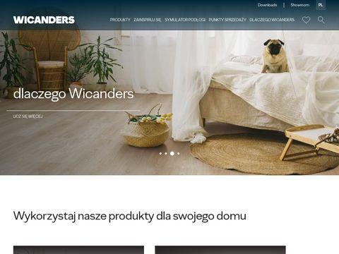 Wicanders.pl podłogi drewniane