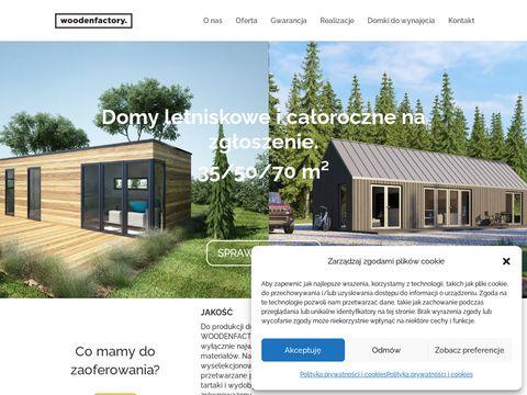WoodenFactory Drewniane meble ogrodowe