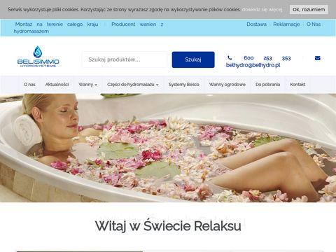 Wanny-z-hydromasazem.com.pl Belisimmo