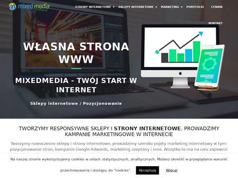 Webstart.com.pl tworzenie sklepów