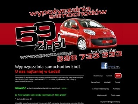 Wypozycz.auto.pl wypożyczalnia Łódź
