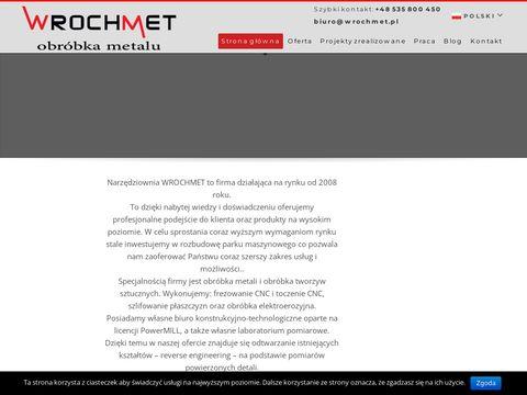 Wrochmet.pl toczenie CNC