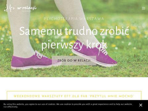 Wrelacji.pl terapia małżeńska Warszawa