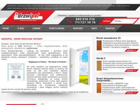 Drzwiwrocław.com.pl montaż
