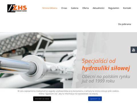 Hydrobog cylindry hydrauliczne