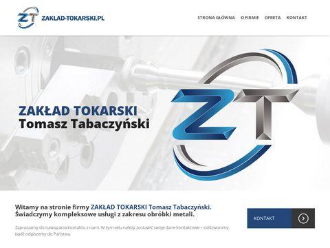 Zaklad-tokarski.pl toczenie CNC Bydgoszcz