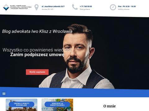 Zanim-podpiszesz.biz.pl adwokat Wrocław