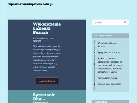 Wposzukiwaniupiekna.com.pl - ujędrnianie skóry