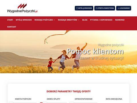 Wygodnepozyczki.pl przez internet