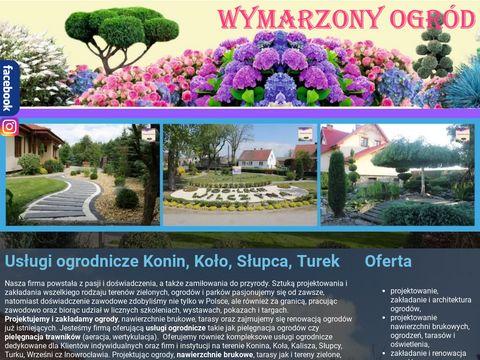 Wymarzonyogrod.konin.pl pielęgnacja Koło