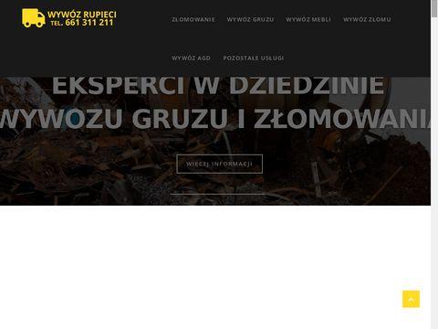 Wywozrupieci.pl - złomu