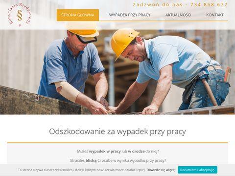 Wypadekprzypracy.pl odszkodowanie