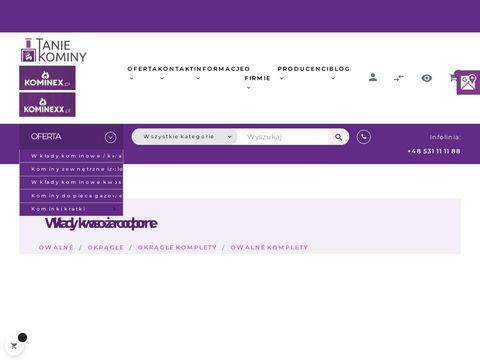 Taniekominy.pl nierdzewne
