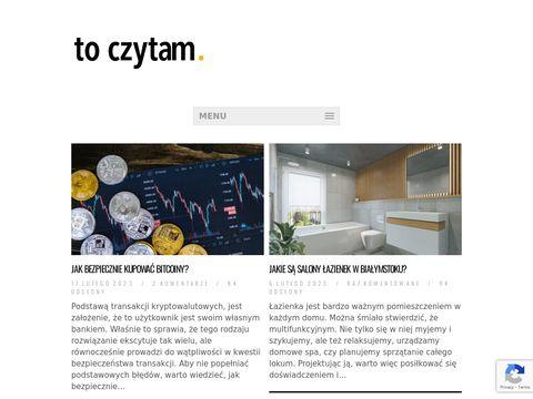 Toczytam.pl - kreatywne pomysły dla domu
