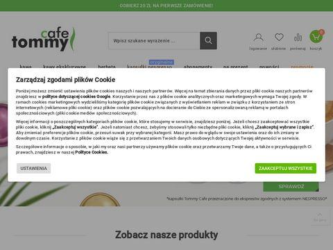 Tommycafe.pl kawa i herbata w dobrej cenie