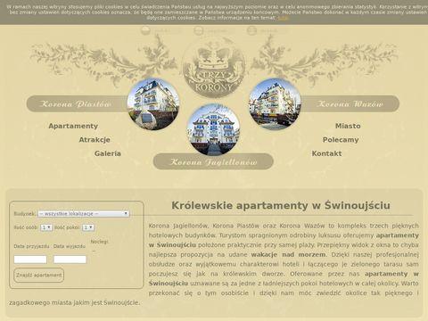 Trzy-korony.pl wynajem apartamentów Świnoujście
