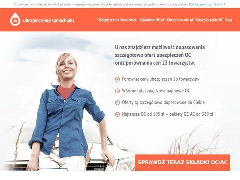 Ubezpieczenie-samochodu.net.pl porównywarka