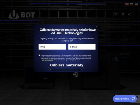 Ubot3d.pl filamenty do drukarek 3d