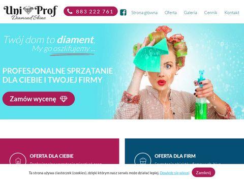 Uniprof-sprzatanie.pl pranie tapicerki Klucze