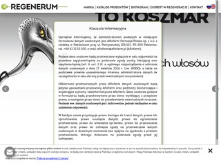 Regenerum.pl serum do rzęs