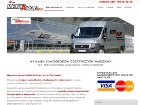 RentAVan.eu - wynajem aut dostawczych
