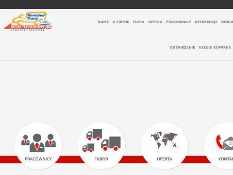 Renobud-trans.pl transport