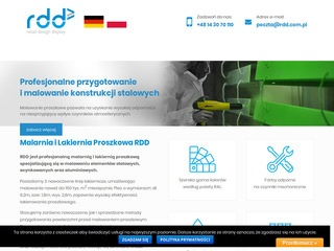 Rdd.com.pl lakierowanie proszkowe