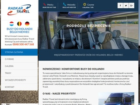 Radkar-travel.pl busy do Holandii