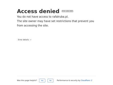 Rafalruba.pl