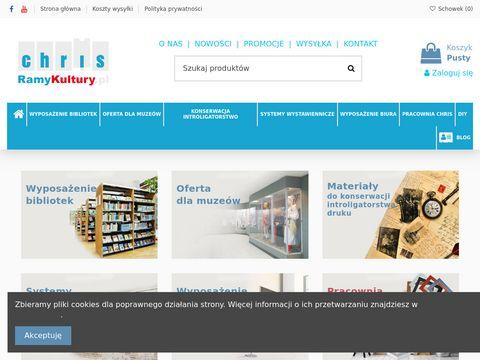 Ramykultury.pl półki na książki
