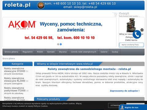 Roleta.pl żaluzje