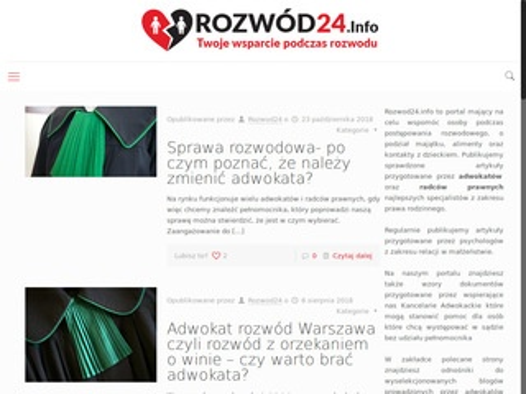 Rozwod24.info adwokat Warszawa