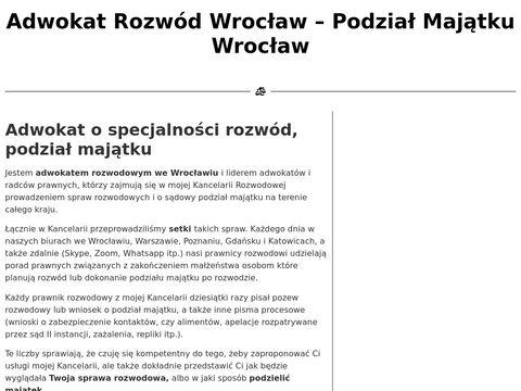 Rozwod-i-podzial-majatku.pl Wrocław