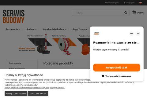 Serwisbudowy.com ogrodzenia budowlane